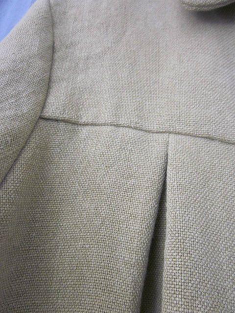 manteau dété en lin vert olive (6)