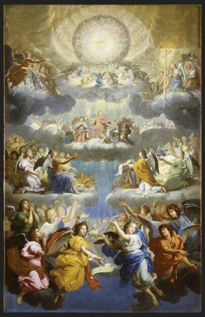Louis Licherie de Beurie, Les neufs choeurs des Anges