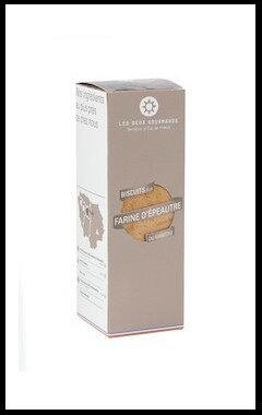 les deux gourmands biscuits farine epeautre
