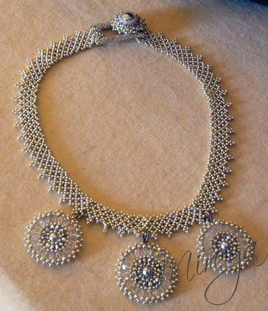 Collier Netting argent 1