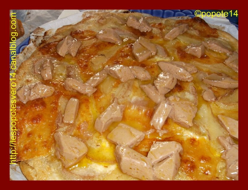 pizza poires foie gras8