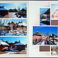 Pairi daiza - village tamberma sous la neige