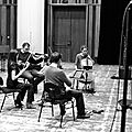 Concert au centquatre, quatuor tana 1.