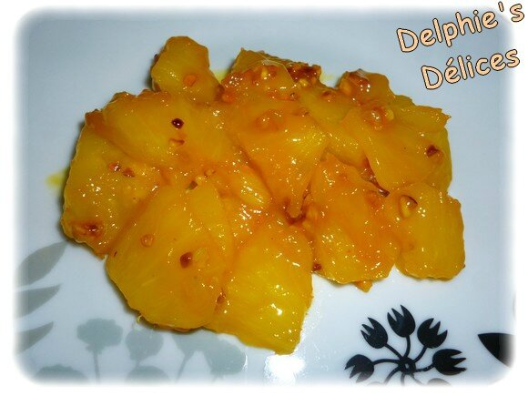 ANANAS MANGUE PRALIN