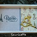 Souricette Paris Vide poche Finition