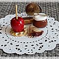 Touchoco et pomme d'amour