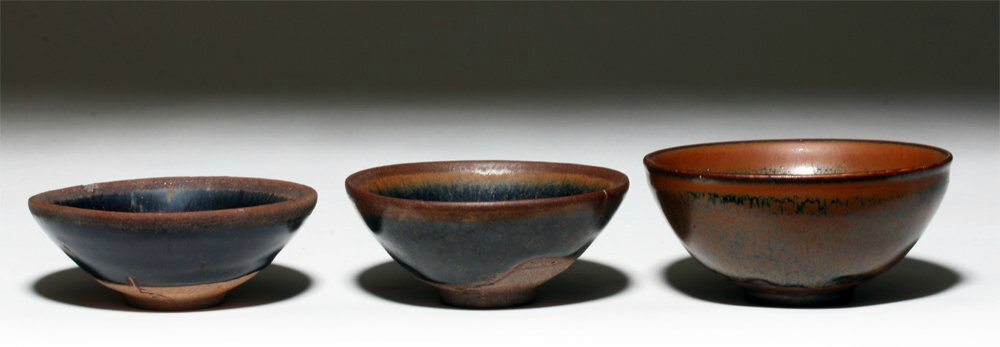 Hare's Fur Tea Bowls, Song Dynasty