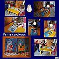Coloriage, peinture et collage