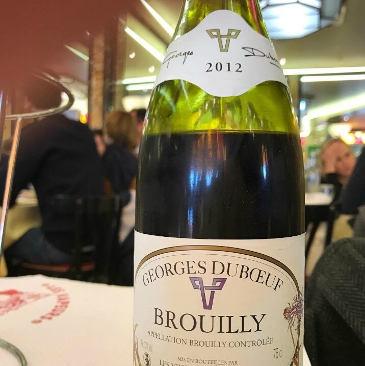 Brouilly Georges Duboeuf 2012