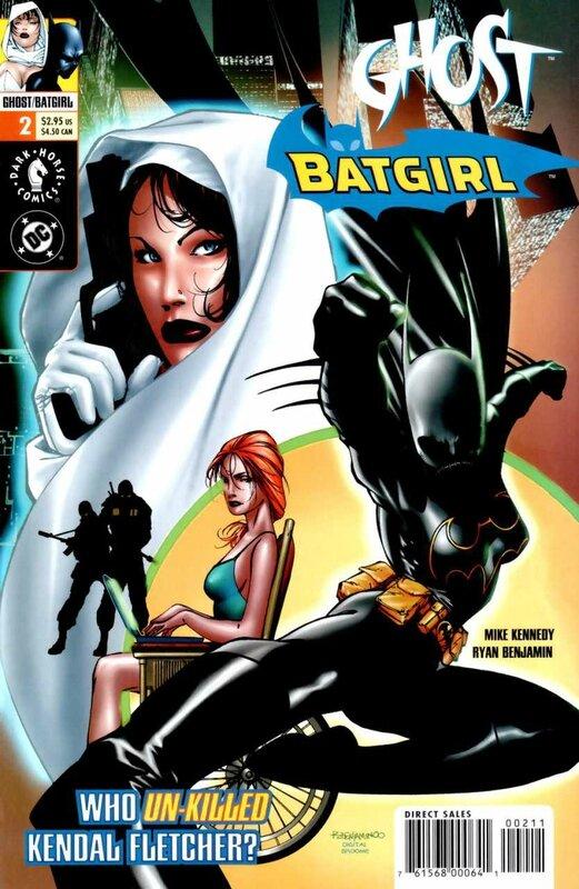 dark horse ghost batgirl 2