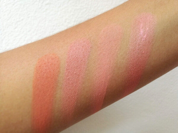 makeup revoluion ultra blush palette hot spice (7)