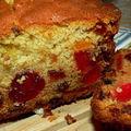 Recette de crevette : cake aux fruits confits
