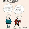 Habemus papam françois