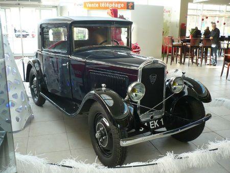 PEUGEOT 201 coupé 1931 Aire d'Ecot (1)