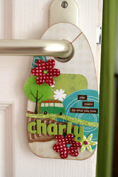 door hanger charly