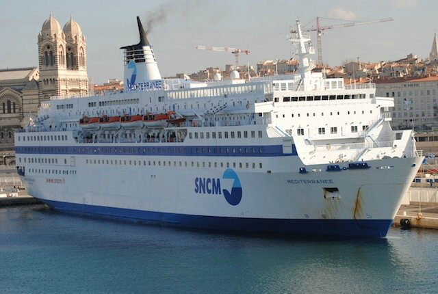 CF SNCM Mediterranee et Marseille