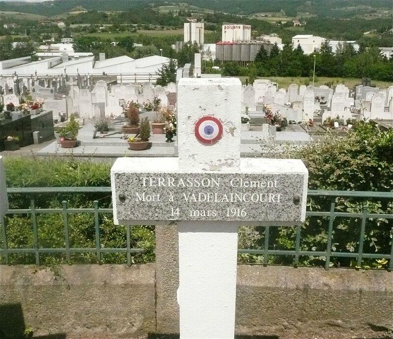 Clément Terrasson, tombe