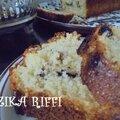 Simple cake a la noix de coco et sirop d'oranges
