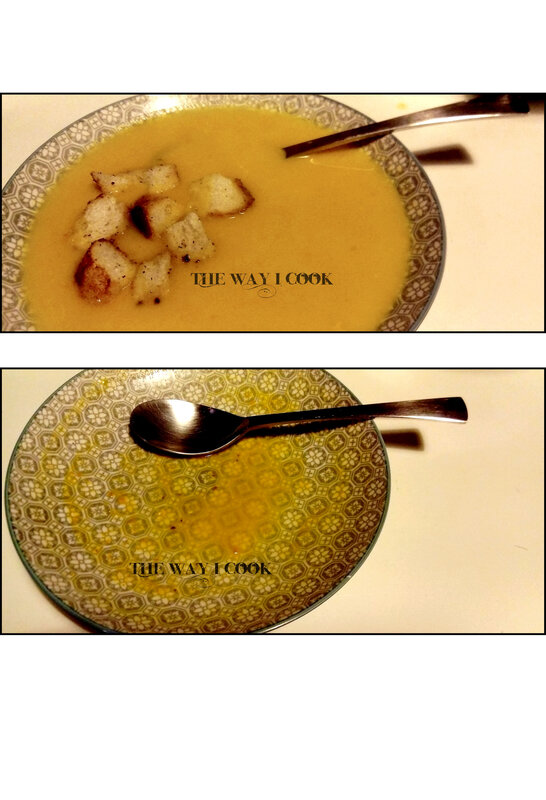 Soupe carotte coco