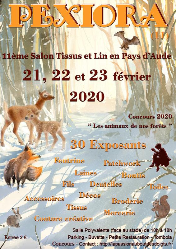PEXIORA 2020 EN PAYS D'AUDE