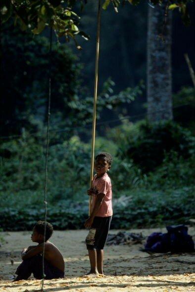 Enfants Orang Asli_Taman Negara_XRu