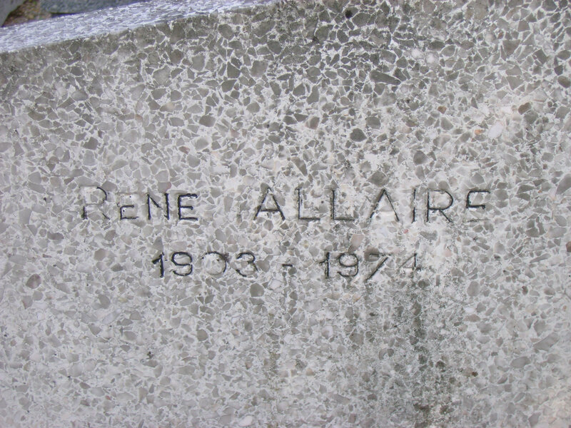 292 - Tombe de René Allaire