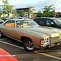 Chevrolet impala 2 doors coupé de 1971 (rencard burger king juillet 2012)