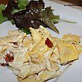 Gratin de ravioles à l'italienne