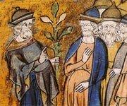 Peinture des juifs au Moyen - Age
