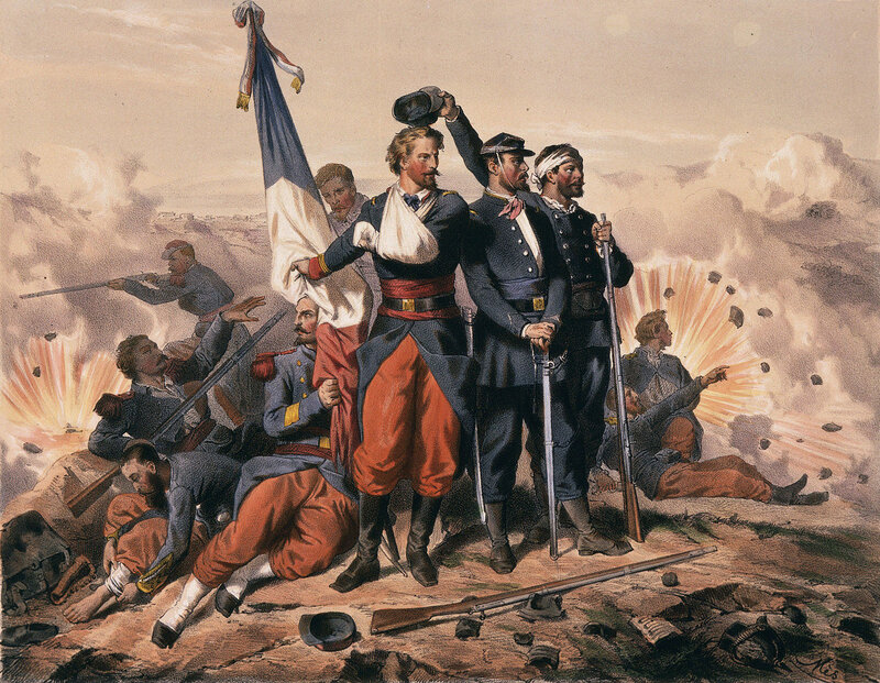 painting-Dead-Battle-of-Sedan-Franco-Prussian-War