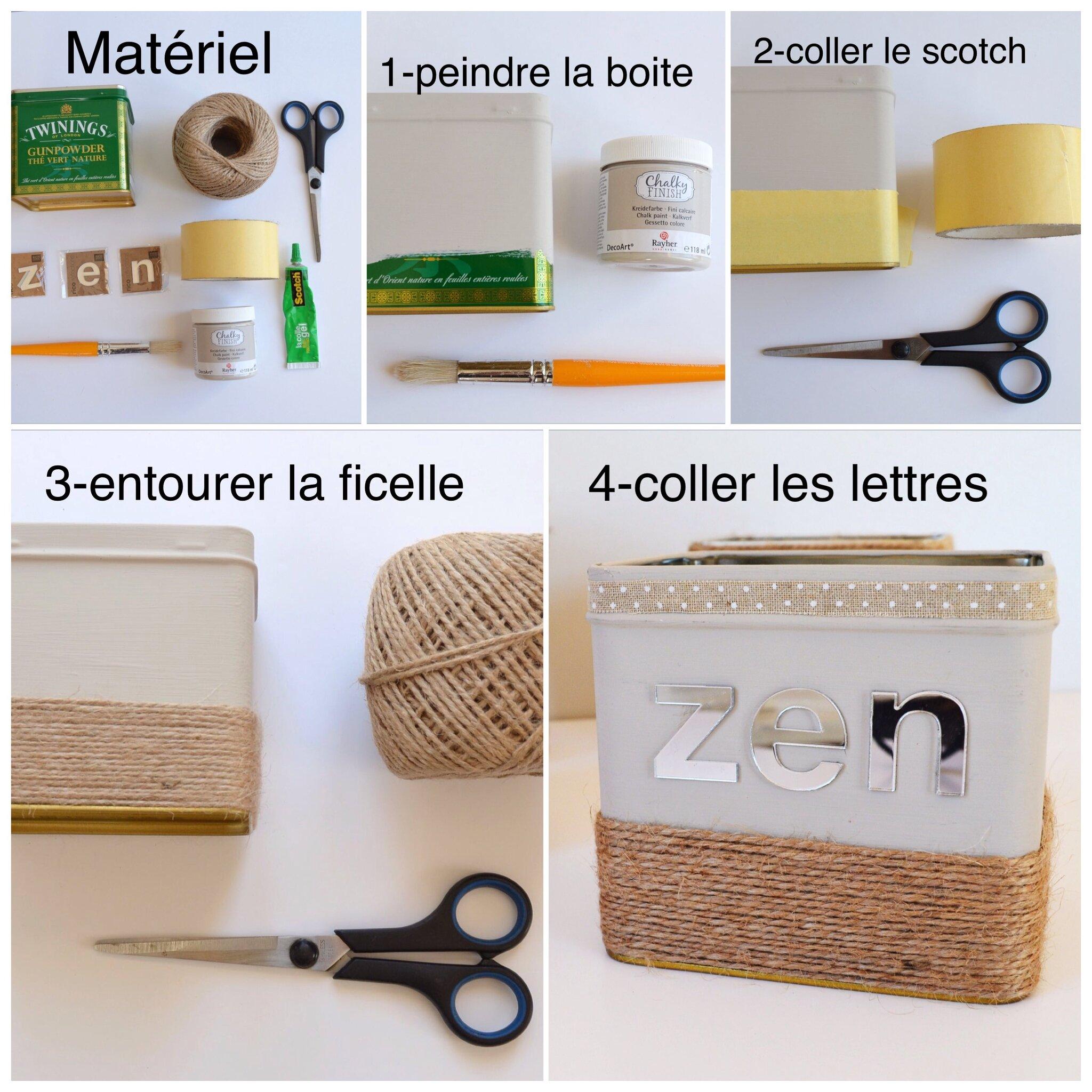 Comment Décorer Des Boites De Conserve diy, des boites de conserves customisées, une jolie déco