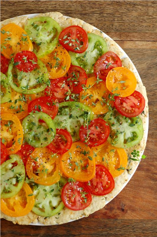 Pizza-tarte tomates & thym_1