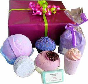 Coffret de Bain Violet Gourmand