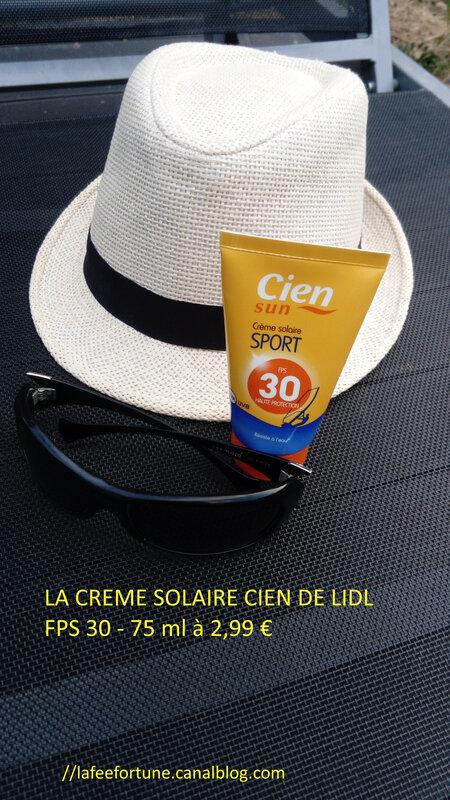 Crème solaireR