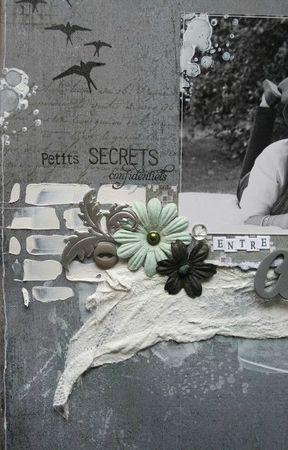 détail 2 page petits secrets entre amies
