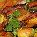 Legumes « un peu moches » doucement confits