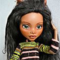 Clawdeen wolf, monster high géante