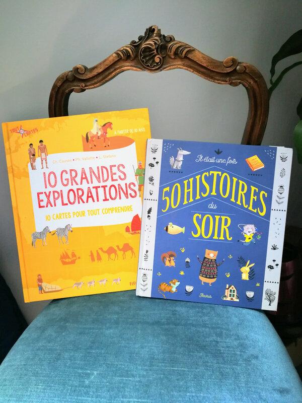livre 50 histoires du soir Editions Fleurus