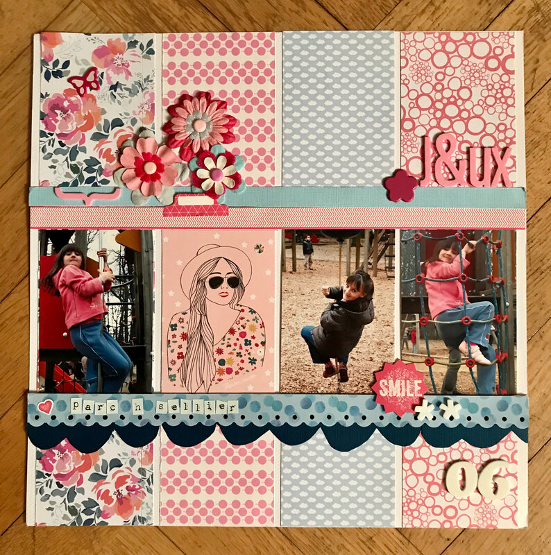 scraplift Melina challene Scrap en Seine Avril 2020