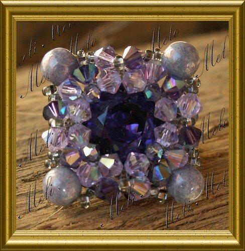 Toffee Purple Velvet
