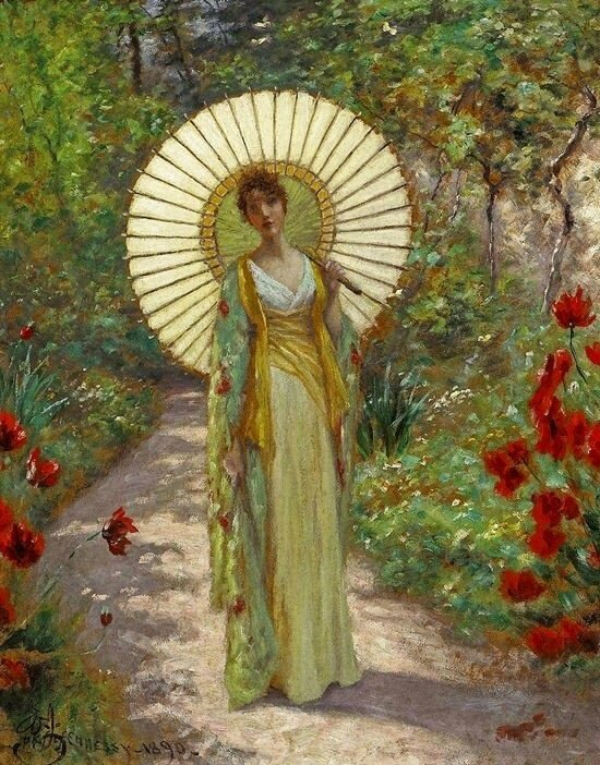 The Japanese ParasolWilliam John Hennessy