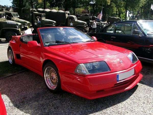 alpine gta cabriolet 1990 a
