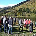 Vallée doller soultzbach: la commission locale de l'eau en visite de terrain sur la haute doller