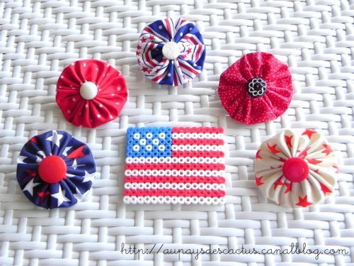 Broches yoyos America