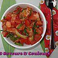 Chatini (ou chutney) de tomates et citrons confits