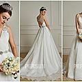Robe de mariée avec ceinture pour raviver le look nuptial