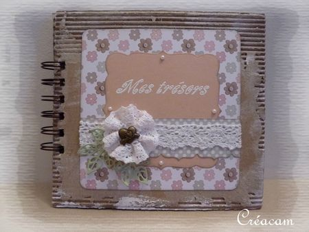 mini album shabby clean 1