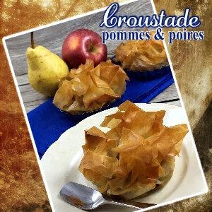 Croustade pommes poires (SCRAP)