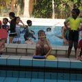 swimming gala de l'école. GUENOLE