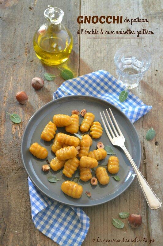 gnocchi de potiron vegan et sans gluten